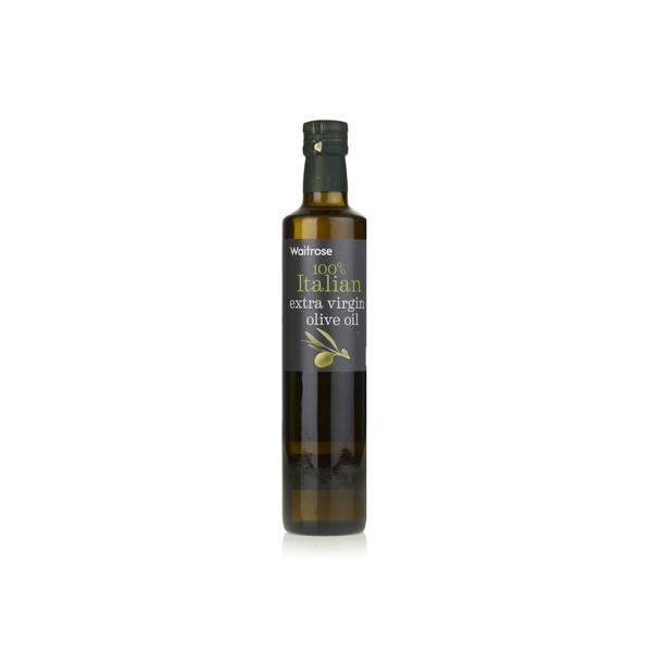 Waitrose Italian extra virgin olive oil 500ml