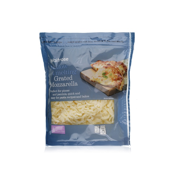 Essential Waitrose mild grated Mozzarella 250g