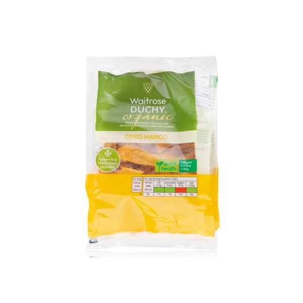 Waitrose Duchy organic dried mango 150g