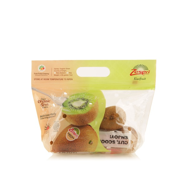 Organic green kiwi New Zealand x5