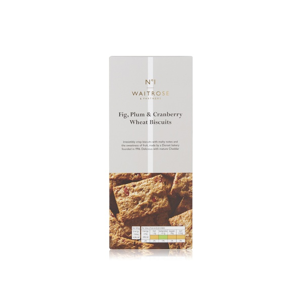 No.1 fig, plum and cranberry biscuits 130g