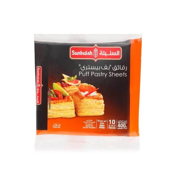 Sunbulah puff pastry sheets x10 400g