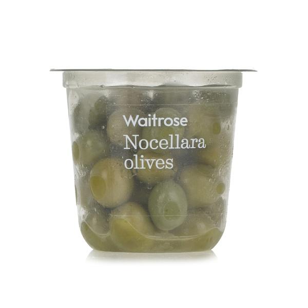 Waitrose nocellara olives 200g