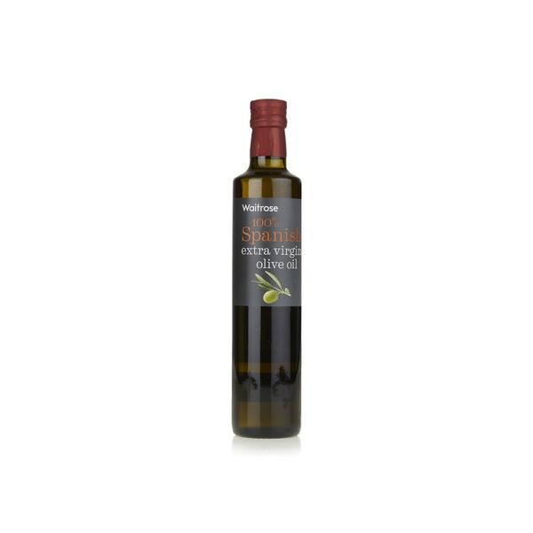 Waitrose Spanish extra virgin olive oil 500ml