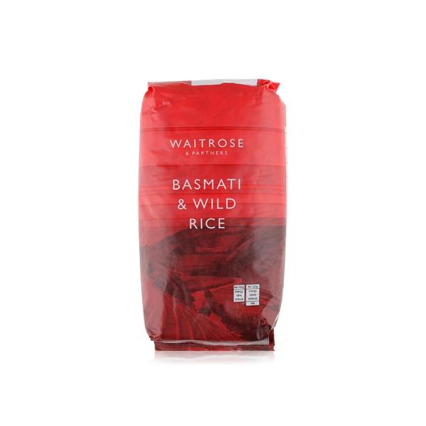 Waitrose basmati and wild rice 1kg