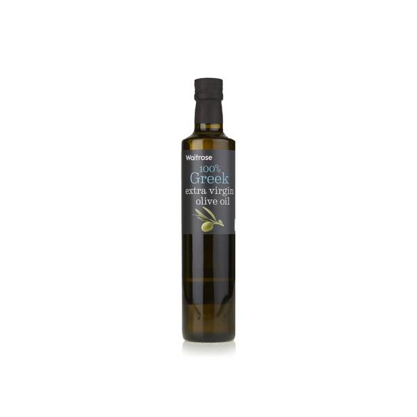 Waitrose Greek extra virgin olive oil 500ml