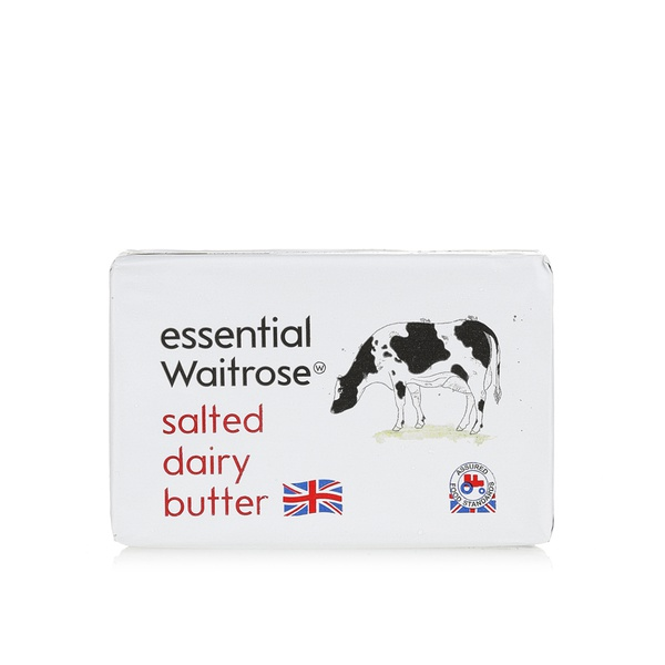Essential Waitrose salted dairy butter 250g
