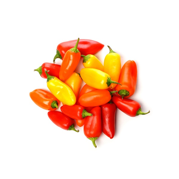 Baby peppers 250g