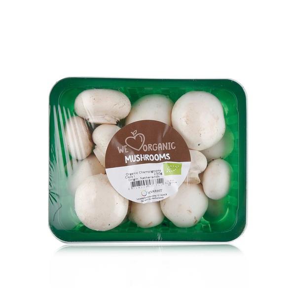 Organic mushroom white 225g