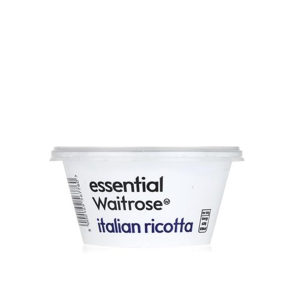 Essential Waitrose Italian ricotta 250g