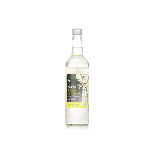 Waitrose elderflower cordial 500ml