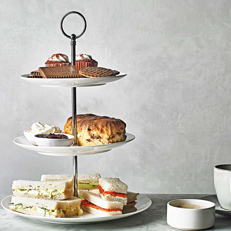 <p>The etiquette of afternoon tea</p>