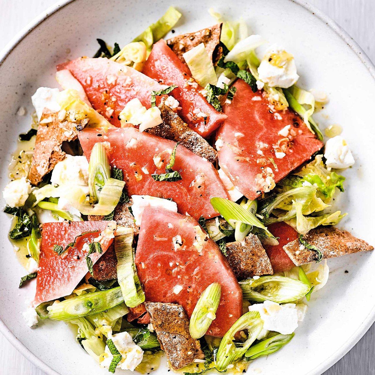 Everyday Watermelon & Feta Salad