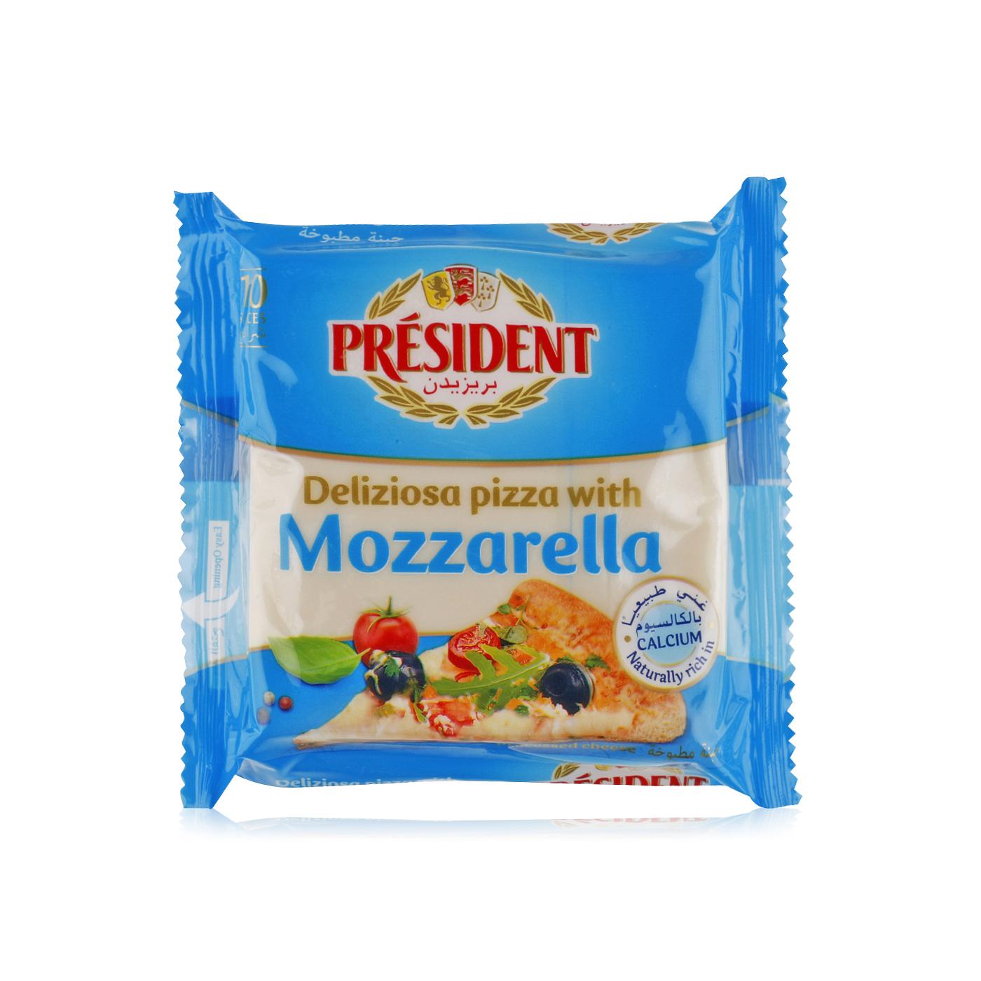president mozzarella slices x 10 200g  waitrose uae