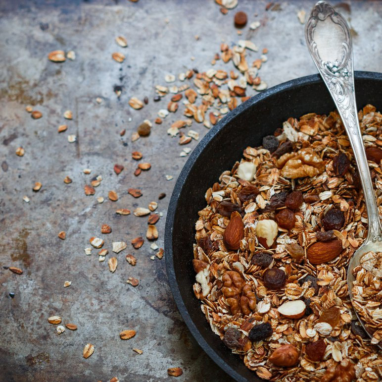 Grab a handful of raisins and add them to your breakfast.