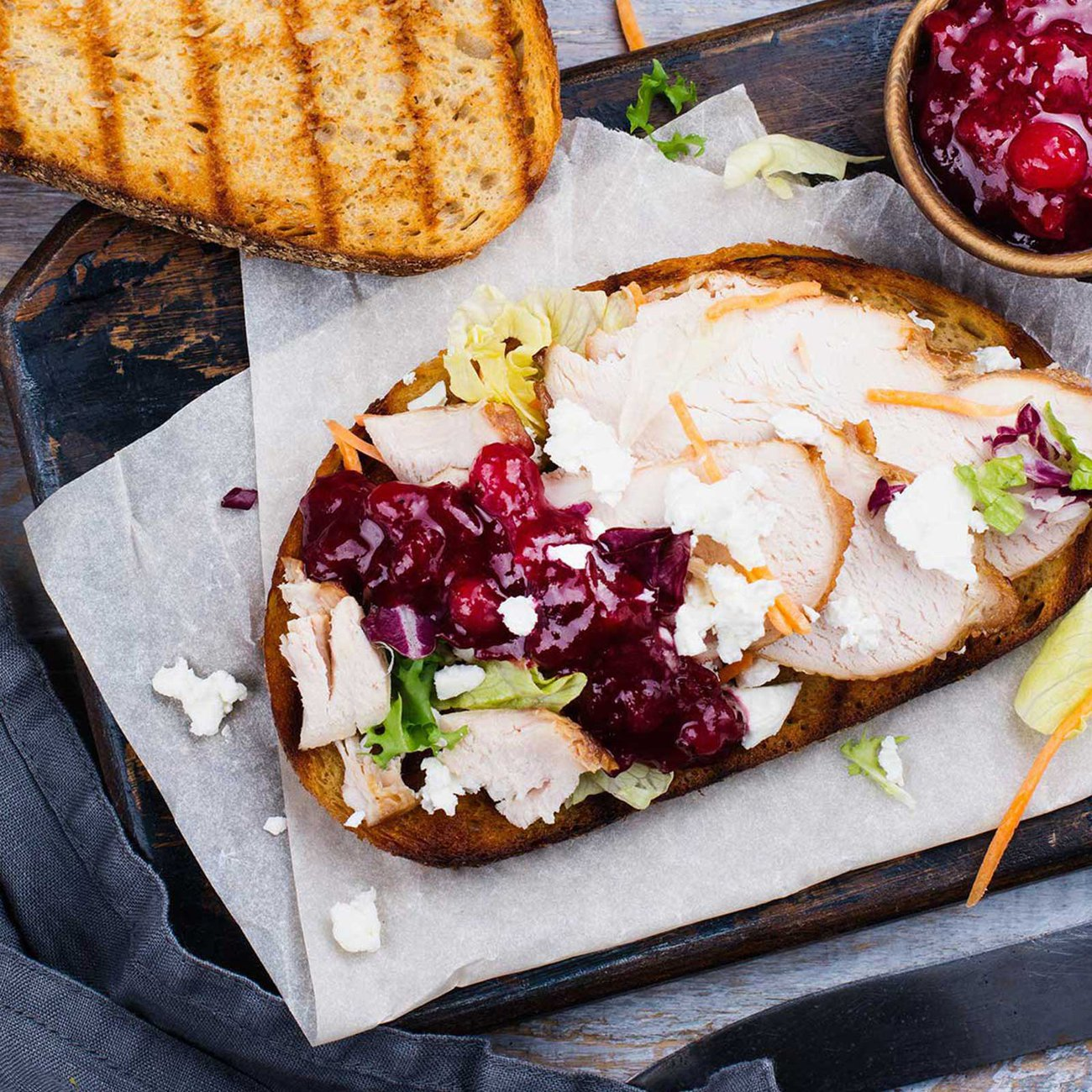 Turkey & Cranberry is a popular combination